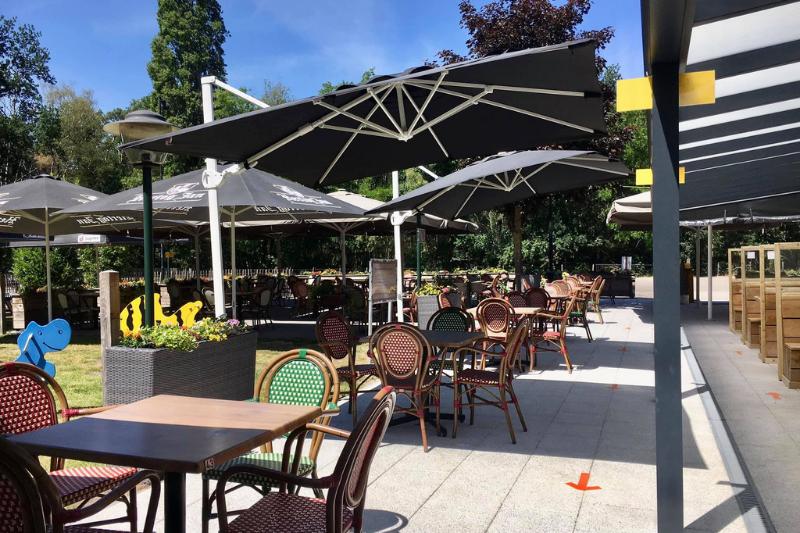 Eetcafé Schuttershoeve Lunch Diner borrelen speeltuin Natuur en Recreatiegebied De IJzeren Man