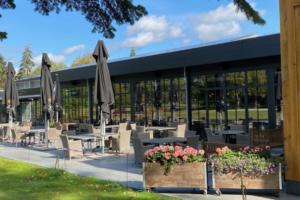 Crossmoor Golf Hotel Terras De IJzeren Man Weert